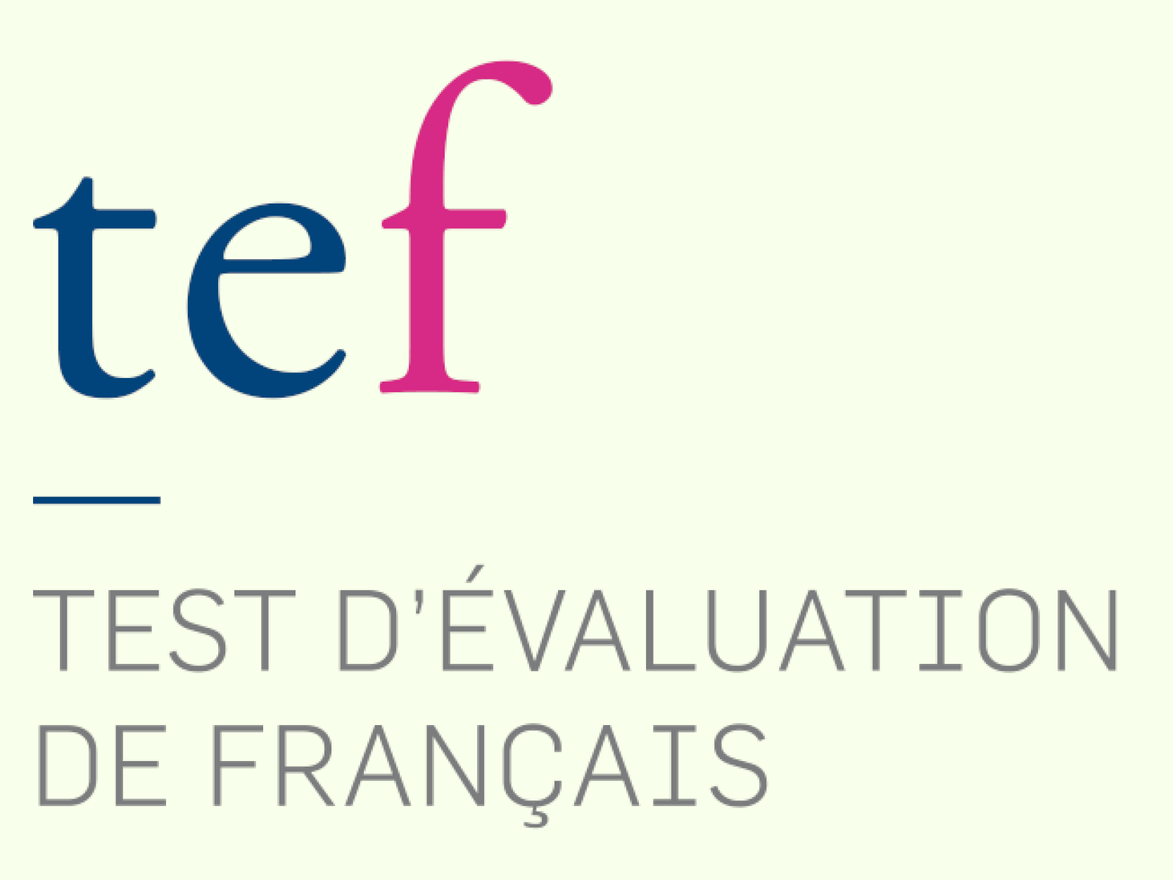 TEST D´EVALUATION DE FRANÇAIS